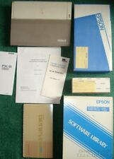 VINTAGE AMAZING EPSON PX-8 COMPUTER (GENEVA) W/ACCESSORIES INCLUDING SOFTWARE