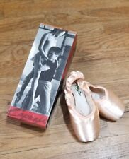 NEW Capezio Glisse Pro 115 Pointe Shoes pink SIZE 6W - NEW Old Stock Ballet