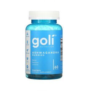 Goli Nutrition Ashwagandha Gummies Vit D2 Keep Calm De Stress Relax Restore