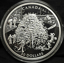 2006 Canada $50 The Four Seasons  - 5 oz. fine silver coin