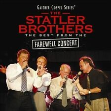 """THE STATLER BROTHERS, CD """"THE BEST FROM THE FAREWELL CONCERT"""" NEW SEALED"""