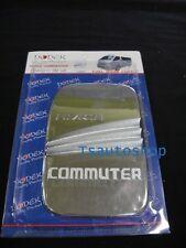 CHROME FUEL CAP OIL COVER TRIM FOR VAN TOYOTA HIACE COMMUTER 2005-2013 V.2