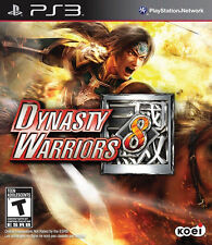PlayStation 3 : Dynasty Warriors 8 VideoGames