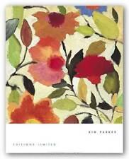 FLORAL ART PRINT Begonias Kim Parker
