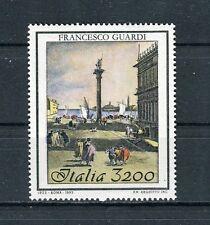 Italia 1993 bicentenario morte pittore Francesco Guardi MNH