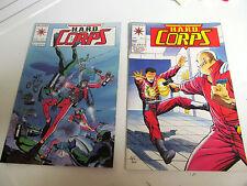 LOT 2 * VALIANT COMICS *THE H.A.R.D.  CORPS *1993 # 3.  &  # 4.   F/F