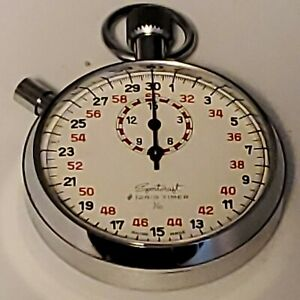 RARE  Vintage Sportcraft STOPWATCH #12851  Tested,Working.