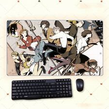 Anime Bungo Stray Dogs Thicken Gaming Playmat Extra Large Mousepad Mat 68x38cm