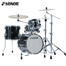 NEW Sonor AQ2 Series 4 Piece SAFARI Drum Set Shell Pack Transparent Black