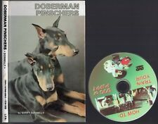 DOBERMAN PINSCHER  Dog Owner Handbook + FREE BONUS Training DVD