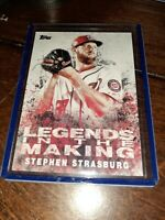 Stephen Strasburg 2018 Topps Baseball #LITM-30 MLB Washington Nationals