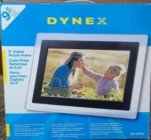 """Dynex 9"""" Digital Picture Frame. New, open box."""