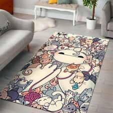 Baymax Big Hero 6 Disney Movies Area Rugs Living Room Carpet Floor Decor