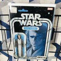 Star Wars #75 Anakin Skywalker Action Figure Variant Marvel Comic 1st print 2019