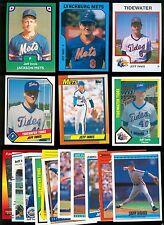 Jeff Innis Card Lot - Decatur IL, University of Illinois, New York Mets, G127