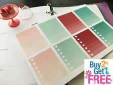PP154C -- Pink Functional Boxes Life Planner Stickers for Erin Condren (8pcs)