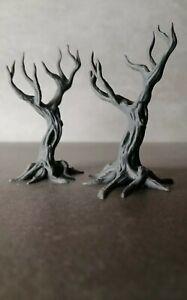 Baum  Modellbau Tabletop Terrain Gelände unbemalt