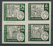 Essay Probedruck Goethe Deutsche Post Viererblock