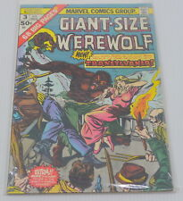 GIANT-SIZE WEREWOLF BY NIGHT COMIC BOOK No. 3, 1975, MARVEL