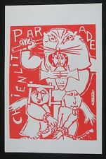 Affiche mai 68 PARADE CHIENLIT french poster1968