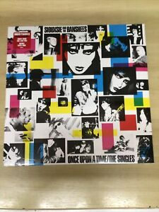 SIOUXSIE AND THE BANSHEES-CLEAR VINYL LP-ONCE UPON A TIME/THE SINGLES-M/SEALED
