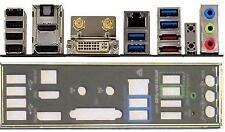 ATX Blende i/o shield Asus P8Z77-I DELUXE WD #540 io schield NEU OVP backplate