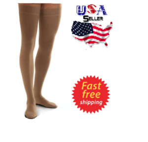 30-40mmHg Compression Stockings Medical Varicose Vein Relief Support Thigh High