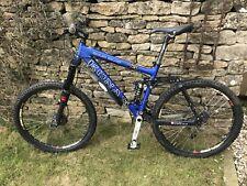 Kona coiler deluxe full suspension mountain bike