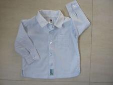 C&A Hemd Gr. 80 hell blau weiß w. Neu