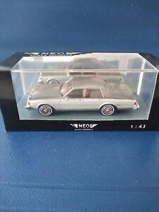 NEO Chevrolet Caprice Classic OVP 1:43 aus Resine in Handarbeit gefertigt,silber