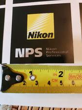 Nikon NPS Emblem - 2 1/2 x 2 1/2 inches - Vinyl Emblem