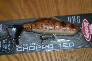 Berkley Bucktooth Beaver Choppo 120 Topwater Bait  1-2/5oz. (Brown) NIB