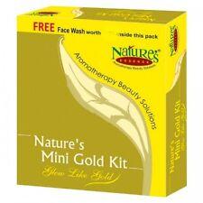 Nature's Essence Mini Gold Facial Kit - 52 gm Kit Glow like gold bridal glow kit