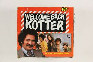 1976 Topps Welcome Back Kotter Non-Sports UNOPENED Wax Box