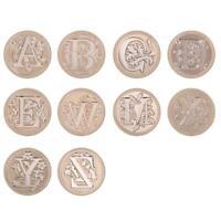 European Letter Wax Paint Seal Vintage Envelope Sealing Copper Head Stamp