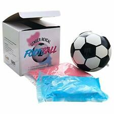 Gender Reveal Exploding Football/Soccer Ball - Includes Blue and Pink, Baby