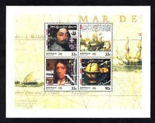 Australia (Scott 952A) - 1985 - Explorers - Souvenir Sheets (2) - Mnh