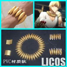 Fate Zero Gilgamesh Archer Caster Necklace Bracelet Earring Prop Handmade