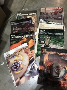 The DECORATIVE PAINTER Lot of 11  1998-2000