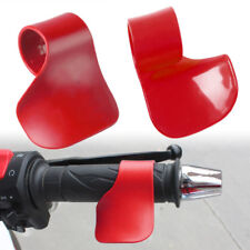 Motorcycle E Bike Grip Throttle Assist Wrist Cruise Control Cramp Rest Relax Red