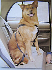 """NEW Heavy duy Dog Travel Harness Car Seatbelt Safety size large 28""""-36""""girth"""