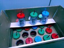 New listing 20-Aladdin Plastic Mason Drinking Jars With Festival Straws 00006000  16 oz