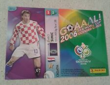 FIFA 2006 World Cup Croatia DARIO SIMIC Panini Trading Card