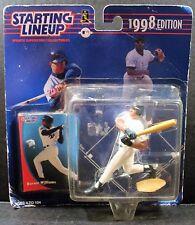 VINTAGE 1998 MLB BERNIE WILLIAMS FIGURE STARTING LINEUP KENNER YANKEES SUPERSTAR
