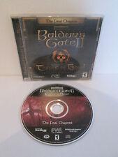 PC - Baldur's Gate II 2 Shadows of Amn Throne of Bhaal The Final Chapter