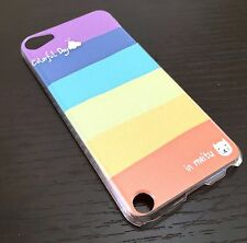For iPod Touch 5th & 6th Gen - HARD BACK PROTECTOR SKIN CASE COLORFUL STRIPES