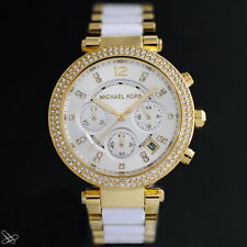 Michael Kors MK6119 Parker Women's Watch Stainless Steel Colour: Yellow Gold /