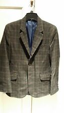 SUPER NICE ZARA MENS BLAZER JACKET COAT TAG SIZE 40 or L ALSO FITS 38 OR MED