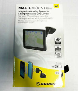 NEW Scosche MagicMount Dash/Window Magnetic Mounting System for Smartphones GPS