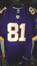 NATE BURRELSON #81 MINNESOTA VIKINGS NEW TAGS NFL EQUIPMENT JERSEY SIZE 48